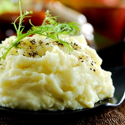 Gourmet mashed potato