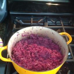 Grandma's Red Cabbage