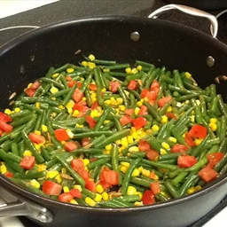 Festive Veggie Saute