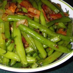 Green Beans and Bacon