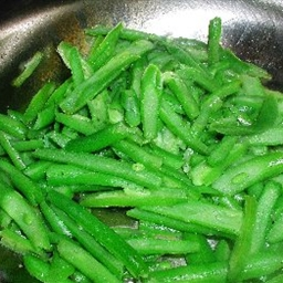 Green Beans (My Adaptation of Dry Fried Beans)