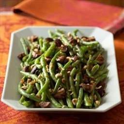 Green Beans with Ham and Shallots