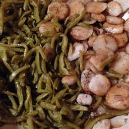 Green Beans with Water Chesnuts