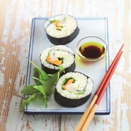 Green Lemon Marinated Scallop Sushi