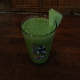 Green Smoothie 8 ( Honey-Kissed Nectarines )