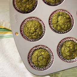 Green Tea Banana Muffins