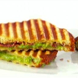 Grilled Cheese with Spinach & Pancetta