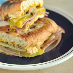 Grilled Cuban Subs