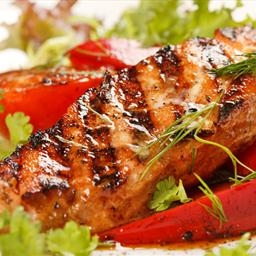 Grilled Fish with Brazilian Garlic Marinade