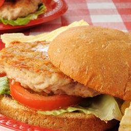 Grilled Parmesan Turkey Burger