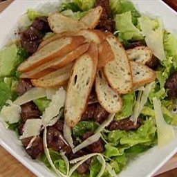 Grilled Steak Salad, Caesar Style