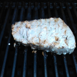 Grilled Swordfish with Spicy Mayonnaise