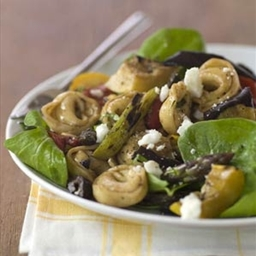 Grilled Vegetables with Cheese Tortellini
