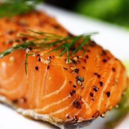 Grilled Wild Sockeye Salmon