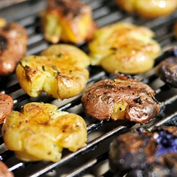 Grilling: Smashed Potatoes