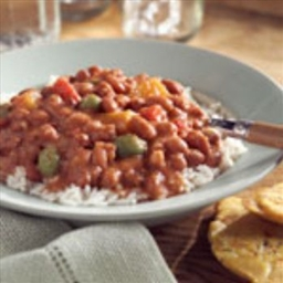 Habichuelas (Puerto Rican Red Beans)