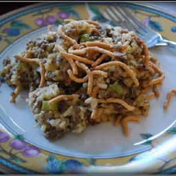 Hamburger Chowmein