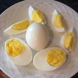 Hard boiled eggs easy peel
