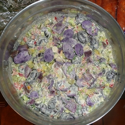 Hawaiian Surf Purple Potato Salad