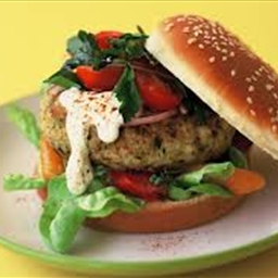 Herbed Chicken Burgers
