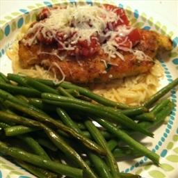 Herbed Chicken Parmesan