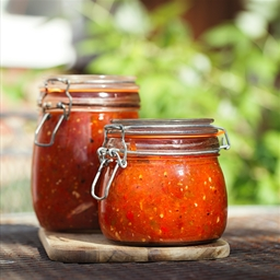 Home Grown Canned Tomatoes