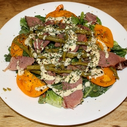 Honey Dijon Smoked Ham and Asparagus Salad