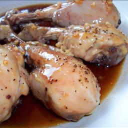 Honey Garlic Chicken Drumsticks