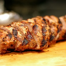 Honey marinaded Pork Tenderloin