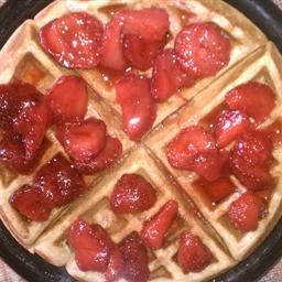 Honey Wheat Waffles