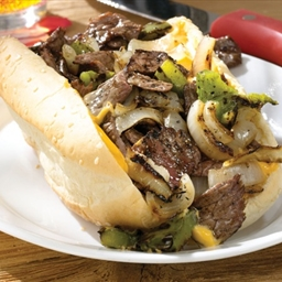Hotdoxy grilled philly cheesesteak