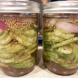 Ice Box Pickles