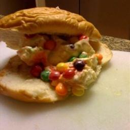 Ice Cream Sandwich with Skittles