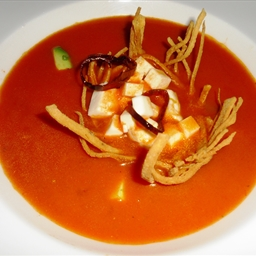 Ina Garten's Chicken tortilla soup