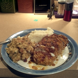 Individual Turkey Meat Loaf