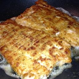 Italian Breaded Salmon Fillets