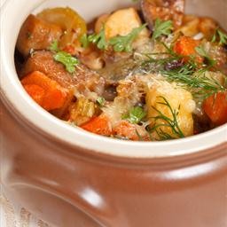 Italian Pot Roast with Artichokes and Potatoes
