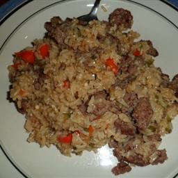 Italian Sauage and Rice