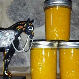 Jack Daniels Hot Mustard (for canning)