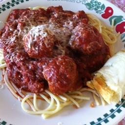 Janet's Spaghetti Sauce