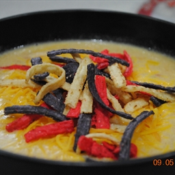 Jodie's chicken tortilla soup
