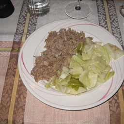 Kalua Pig with Cabbage