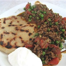 Keema Mattar Pilau (Mince Meat and Peas with Rice)