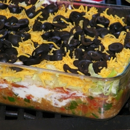 Keto Friendly Layer Dip