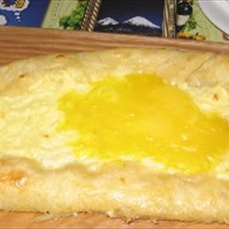 Khachapury (Georgian Cheese Bread)