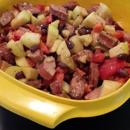 Kielbasa Summer Salad