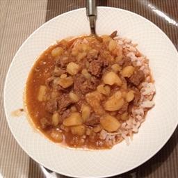 Lamb & Potato Stew (Lebanese Cuisine)