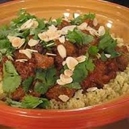 Lamb shank tagine with herb tabbouleh