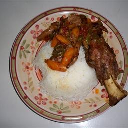 lamb shank yum
