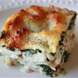 Lasagna Alfredo